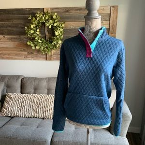 Marine Layer Reversible Lady Corbet Pullover